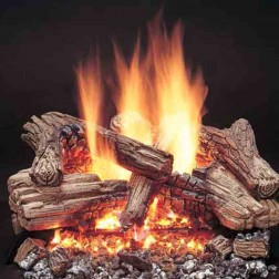 Majestic Duzy-3 VDY30D3R 6-piece Refractory Cement log set for VDY30