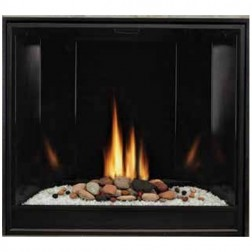 "Empire DVCC32BP72N Tahoe Clean-Face Premium Contemporary DV 32"" Nat-Gas Fireplace /IP"