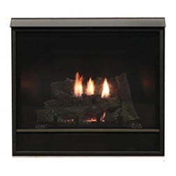 "Empire DVCD32FP71N Tahoe Clean-Face Deluxe Direct-Vent 32"" Nat-Gas Fireplace / IP & Blower"