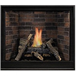 "Empire DVCP32BP30N Tahoe Clean-Face Premium Traditional DV 32"" Nat-Gas Fireplace/MV"