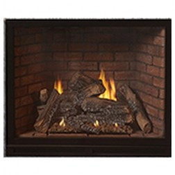 "Empire DVCX36FP30P Tahoe Clean-Face Luxury Traditional Propane-LP DV 36"" Fireplace/ MV"