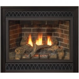 "Empire DVD32FP30P Tahoe Deluxe Direct-Vent 32"" Propane-LP Fireplace /MV"