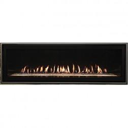 "Empire DVLL60BP90N Boulevard 60"" Direct-Vent Linear Contemporary Nat-Gas Fireplace"