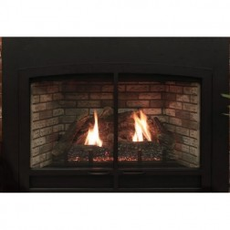 Empire DVC28IN31P Innsbrook DV Clean Face Traditional Propane-LP Large Fireplace Insert /MV