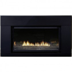 Empire DVL25IN33P Loft Small DV Propane-LP Fireplace Insert / MV