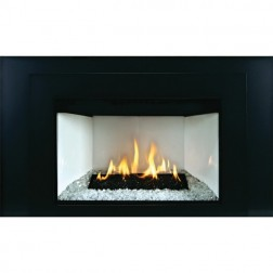 Empire DXL30IN91N Luxury Loft Contemporary Medium DV Nat-Gas Fireplace Insert/MF Remote