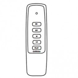 IHP Superior EF-BRCK EcoFlow Basic Electronic Remote Control On/Off