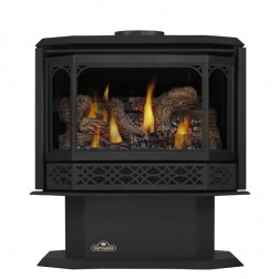Napoleon Havelock Direct Vent Gas Stove w/ Safety Barrier