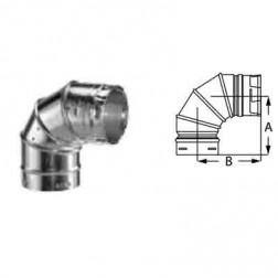"Duravent 6GVL90 6"" 90 Deg Adjustable Elbow"