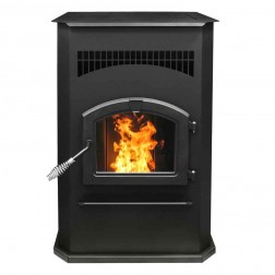 Pleasant Hearth Cabinet Pellet Stove PH50CABPS
