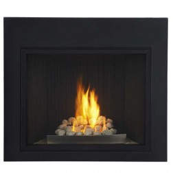 Napoleon HDX40NT-1SB Direct vent (Top) Natural gas fireplace w/black door
