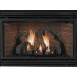 Empire VFP28IN23LP  Innsbrook Vent-Free Fireplace Insert w/28K Btu LP Slope Glaze Burner /Thermostat