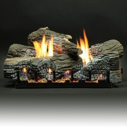 "Empire LS24WRR 5-piece 24"" Stacked Wildwood Refractory Log Set"
