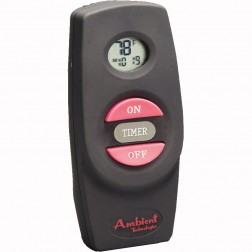 Ambient Technologies RCBE Hand-held On/Off with 120 volt receiver and wall cover plates.