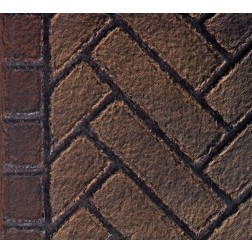 Majestic FBKHLST500OE Olde English Herringbone Firebrick Walls and Hearthbrick for KSTDV500