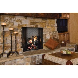 "Majestic ASH42 Ashland 42"" Radiant Wood Burning Fireplace"