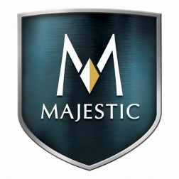 "Majestic 0001841 8"" X 7"" Oval to Round Offset Adapter"