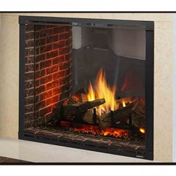 "Majestic Marquis II 42"" Top Direct Vent See-Through Fireplace-MARQ42STIN"