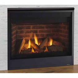"Majestic Quartz 36"" Top/Rear Direct Vent Fireplace LP-QUARTZ36IL"