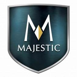 "Majestic 0000555 8"" Oval Flue Collar-Classic Black"