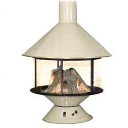 Malm Imperial Carousel Wood Burning or Gas Fireplace