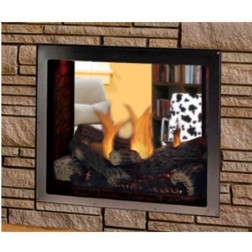 "Majestic Marquis 48"" Top Direct Vent See-Thru LP Fireplace-KSTDVP500PTSC"