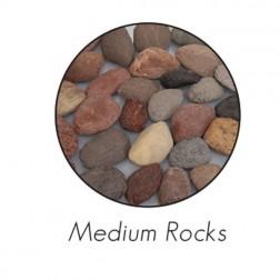 Empire DR1FMA Ceramic Fiber Decorative Rocks Med-Assortd apx 30 pcs