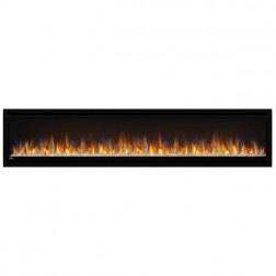"Napoleon Alluravision NEFL74CHD 74""  Deep Depth Electric Wall-hanging Fireplace"