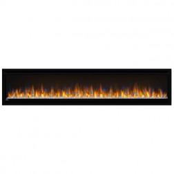 "Napoleon Alluravision NEFL74CHS 74"" Slimline Electric Wall-hanging Fireplace"