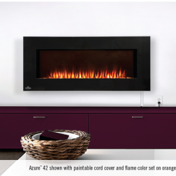 "Napoleon Azure EFL42H 42"" Linear Wall Mount Electric Fireplace"