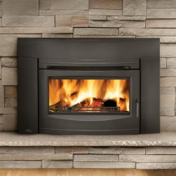 Napoleon Oakdale EPI3 Wood Burning Fireplace insert W/Cast Iron Surround and Door