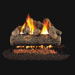 Real Fyre Golden Oak Designer Plus(RDP) Log set