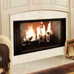 """Majestic BE36 Royalton 36"""" Radiant Wood Burning Fireplace"""