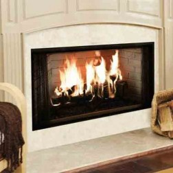 "Majestic BE42 Royalton 42"" Radiant Wood Burning Fireplace"
