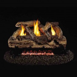 Real Fyre Split Oak (S9) Vent Free Log set