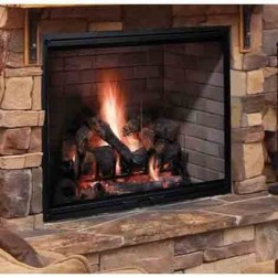 "Majestic SB60 Biltmore 38"" Radiant Wood Burning Fireplace"