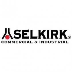 Selkirk 4DT-HKA Direct Temp Horizontal Termination Kit 4 x 6-5/8