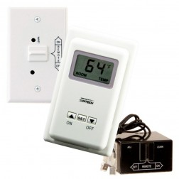 Skytech TS/R-2A Wireless Wall Fireplace Thermostat