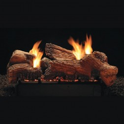 "Empire LSU24SF 24"" Stone River Ceramic Fiber Multi-Sided Log Set"