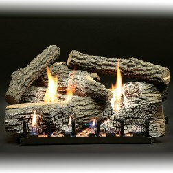 Empire 7-piece Super Stacked Wildwood Refractory Log Set