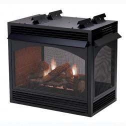"Empire VFP36PP32EP Vail Premium VF Peninsula 36""  LP Fireplace /MV"