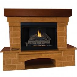 IHP Superior VRT/VCT2000 Universal Vent Free Gas Firebox