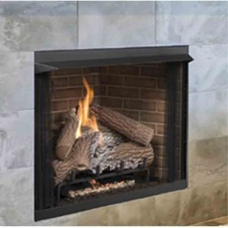 "IHP Superior VRT3142F 42"" Firebox w/Back Bay Brown Fiber"