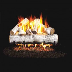 Real Fyre Designer Series White Birch(W) Log set