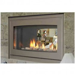 "Majestic Echelon 42"" See-Thru DV Wide View Fireplace Natural Gas-WDVPST500NTSC"