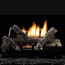 Empire Whiskey River Refractory Log Set w/Vent-Free Burner