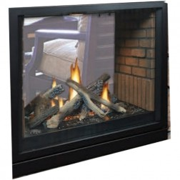 Empire DVCP36SP30P Tahoe Clean-Face Premium See-Thru Propane-LP Fireplace / MV