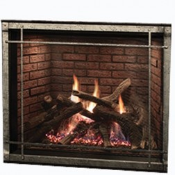 "Empire DVCT40CFP95P 40"" Rushmore TruFlame Direct-Vent Clean Face Propane Fireplace"