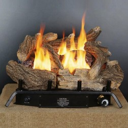 "18"" Vent Free Log Set With Thermostat GLD1850"