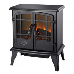 The Keystone ES5130 Black Electric Wood Stove